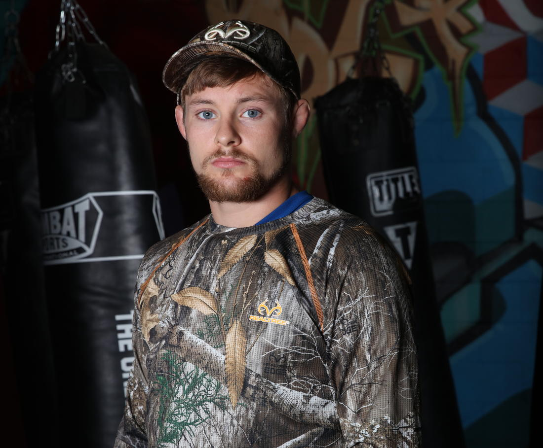 UFC fighter Bryce Mitchell sporting Realtree EDGE.