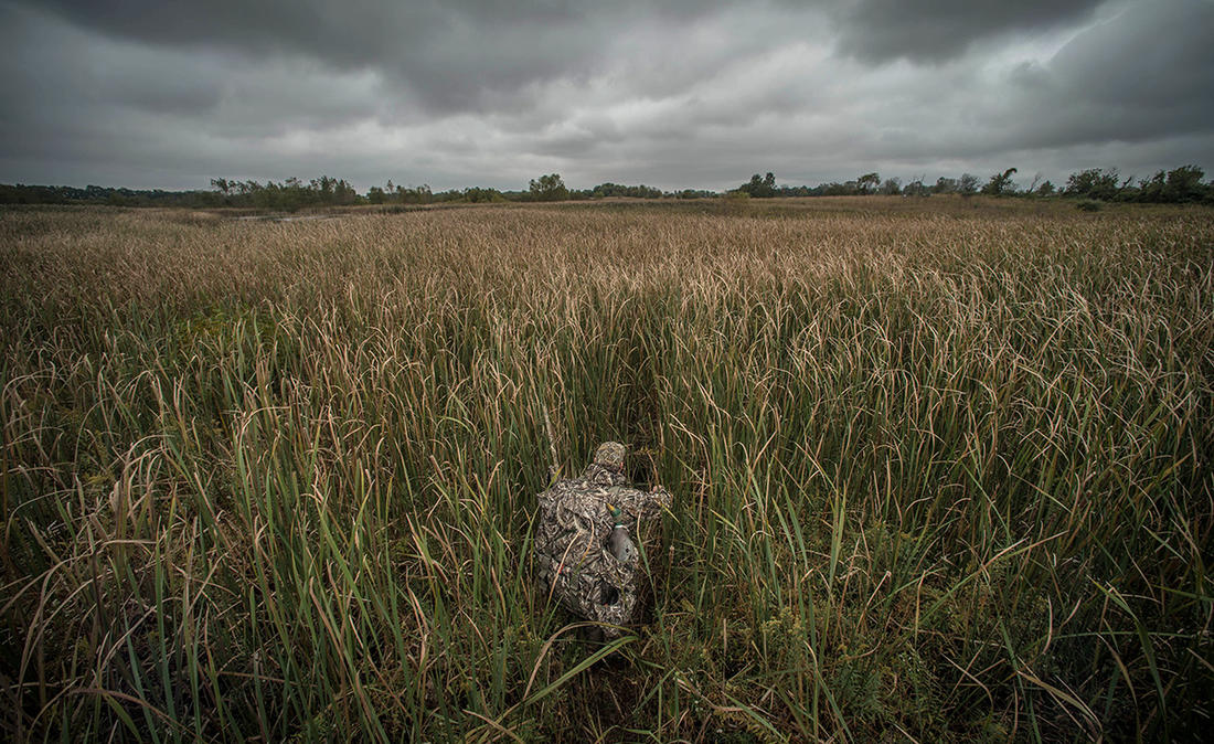 Competition from other hunters can ruin even the best duck hunting plans. Typically, you must work harder and act smarter to succeed. Photo © Banded
