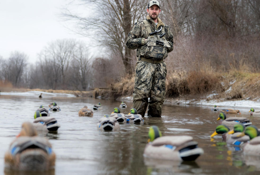 Be innovative when ducks get tough. Stale birds frustrate everyone, but you can add more to your strap by switching things up. Photo © Jeff Gudenkauf