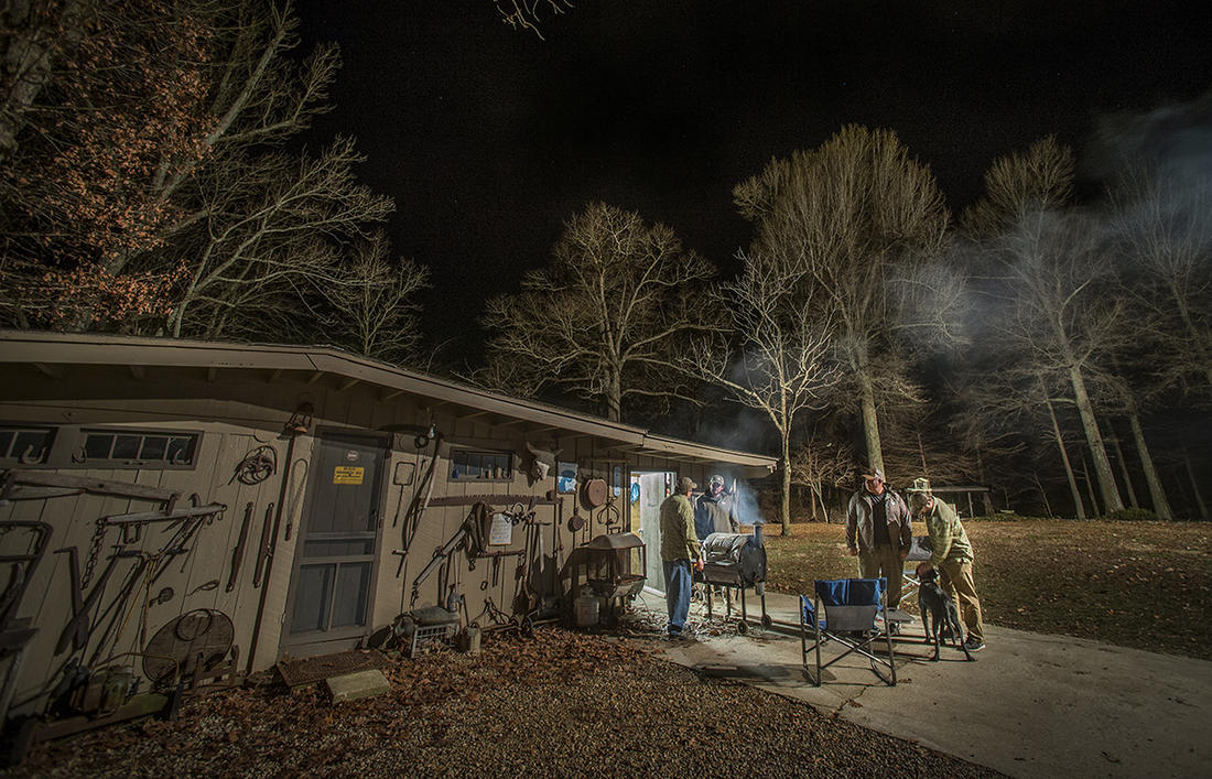 Duck camps share little with everyday existence, which is why we enjoy them so much. Photo © Bill Konway