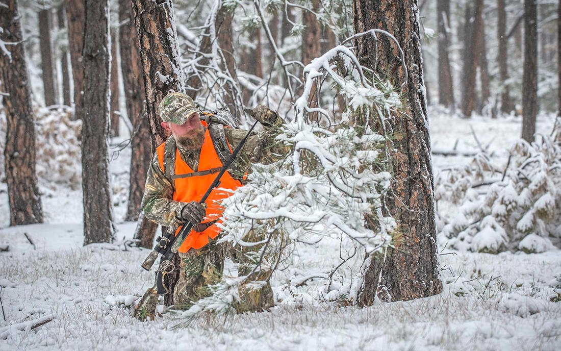 Late muzzleloader seasons can be an outstanding opportunity to fill a tag. Be sure you're comfortable with your gun. (Bill Konway photo)