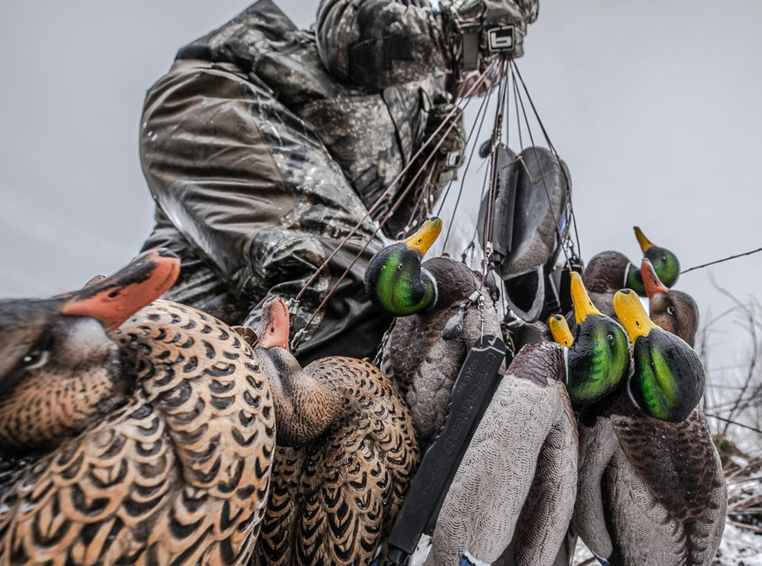 Switching gears during a duck hunt can make you a hero — or a zero. Photo © Nick Costas