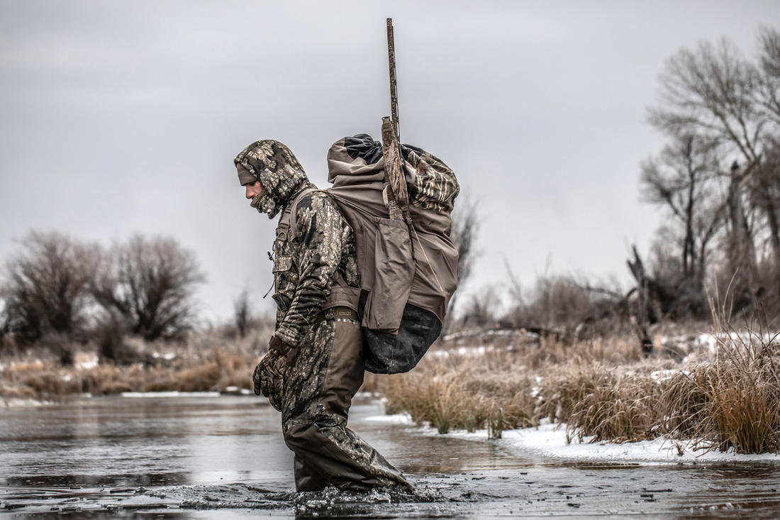 Hitting the marsh by yourself might be the best call many days. Photo © Nick Costas