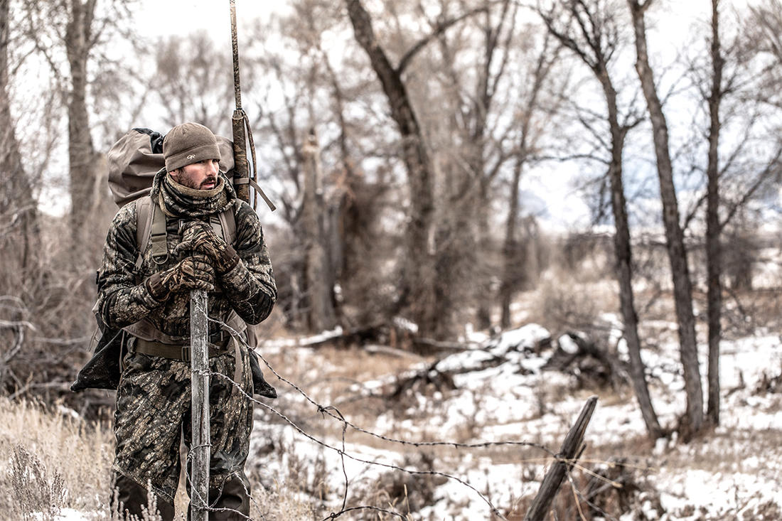 """A light east wind right in my face. Perfect for the diver point."" (That's one of several deer hunting-esque quotes you'll never hear from a waterfowler.) Photo © Nick Costas"