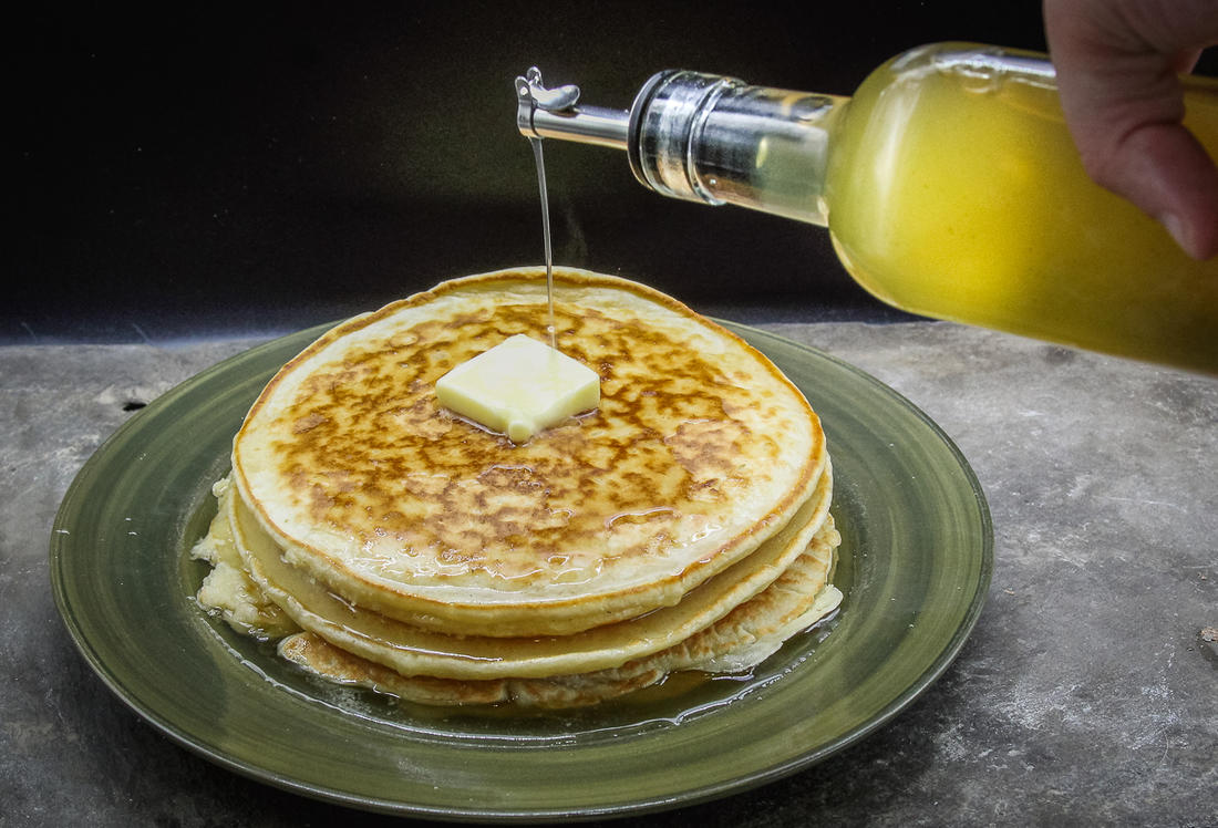 Try the syrup on pancakes or French toast for breakfast.