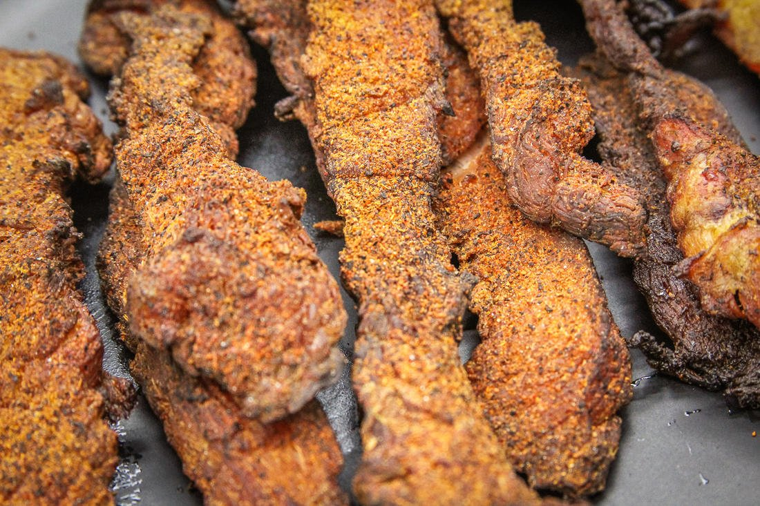 Your Traeger Grill is the perfect tool for making fish jerky.