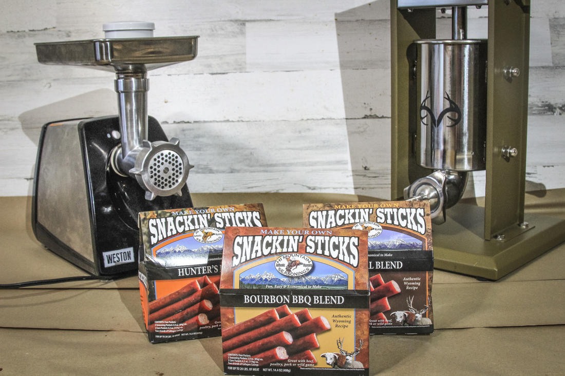 Kits from Hi Mountain and gear from Weston make it easy to process your own snack sticks.