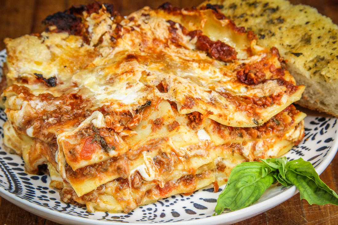 With layers of meat sauce and plenty of cheese, this lasagna recipe will be a hit with the entire family.