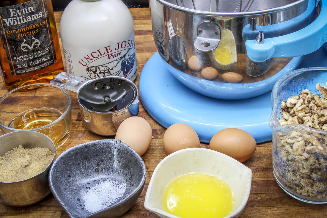Mix the filling ingredients by hand or in a stand mixer.