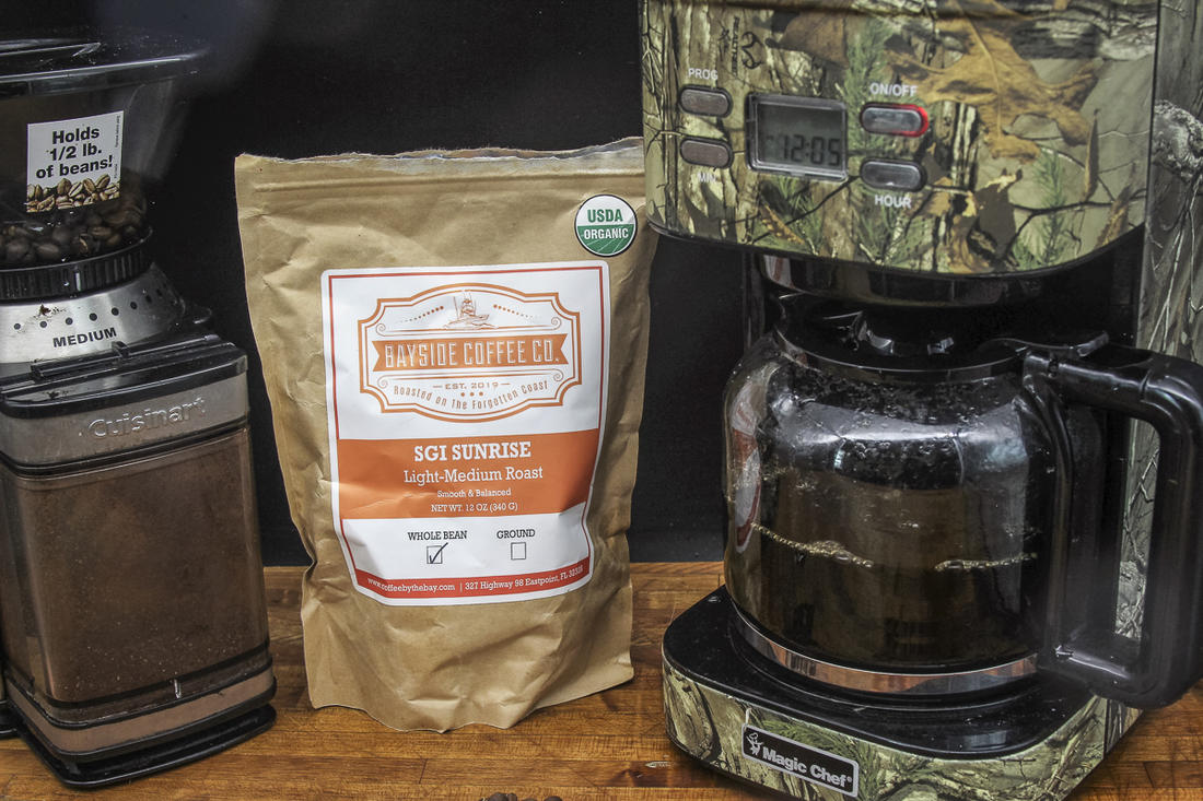 The coffee flavor intensifies as it cooks, so start with a light to medium roast.