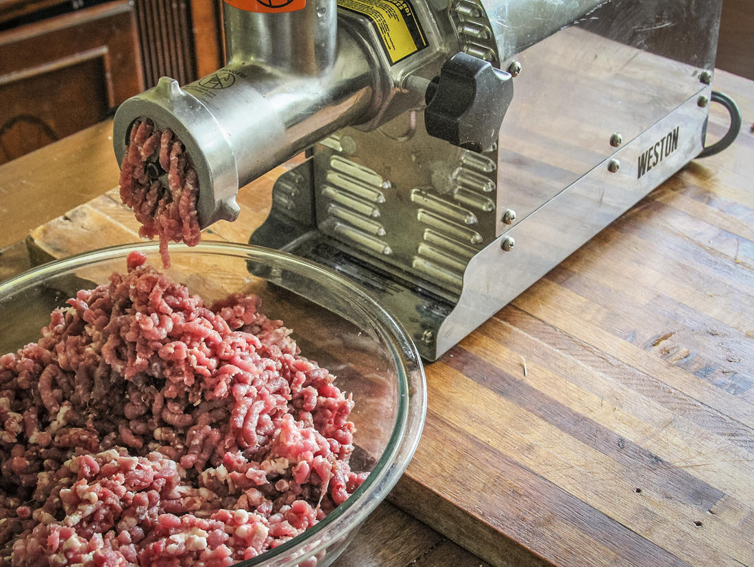Grind extra meat for burgers, sausage, snack sticks or jerky.