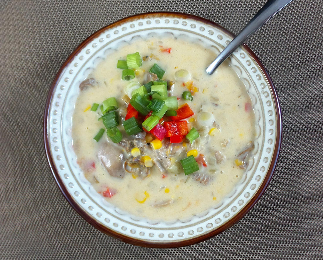Soups and stews are great winter meal options.
