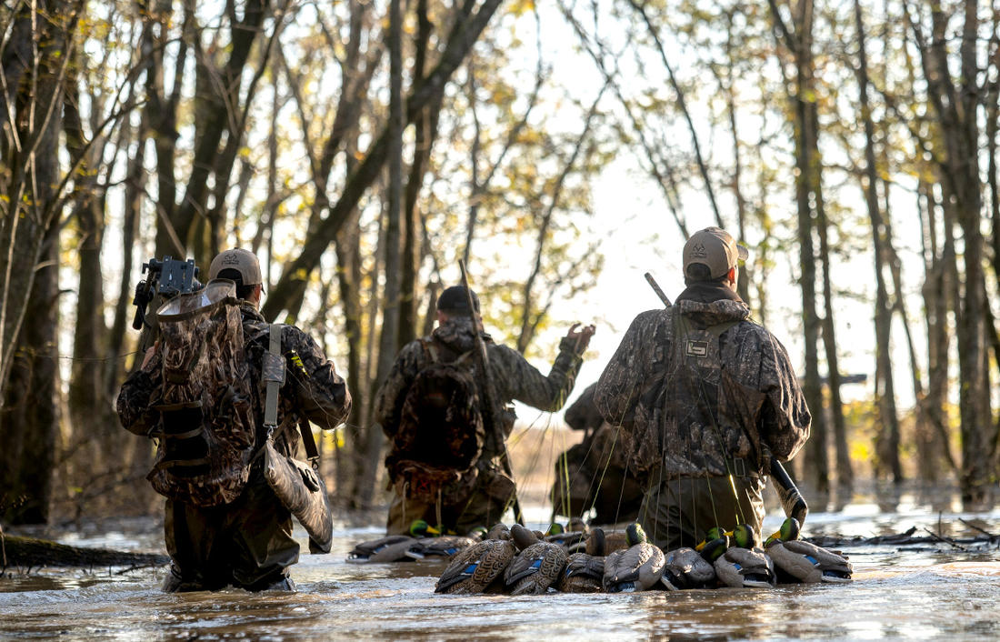 Many duck and goose hunters fear their favorite haunts might be more crowded this autumn. Photo © Phil Kahnke