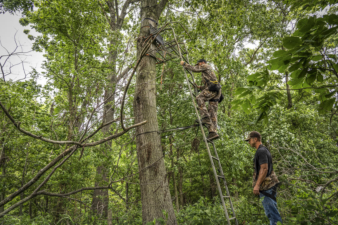 Every aspect of an early season setup should be planned with access in mind. (The Grigsby / Realtree 365)
