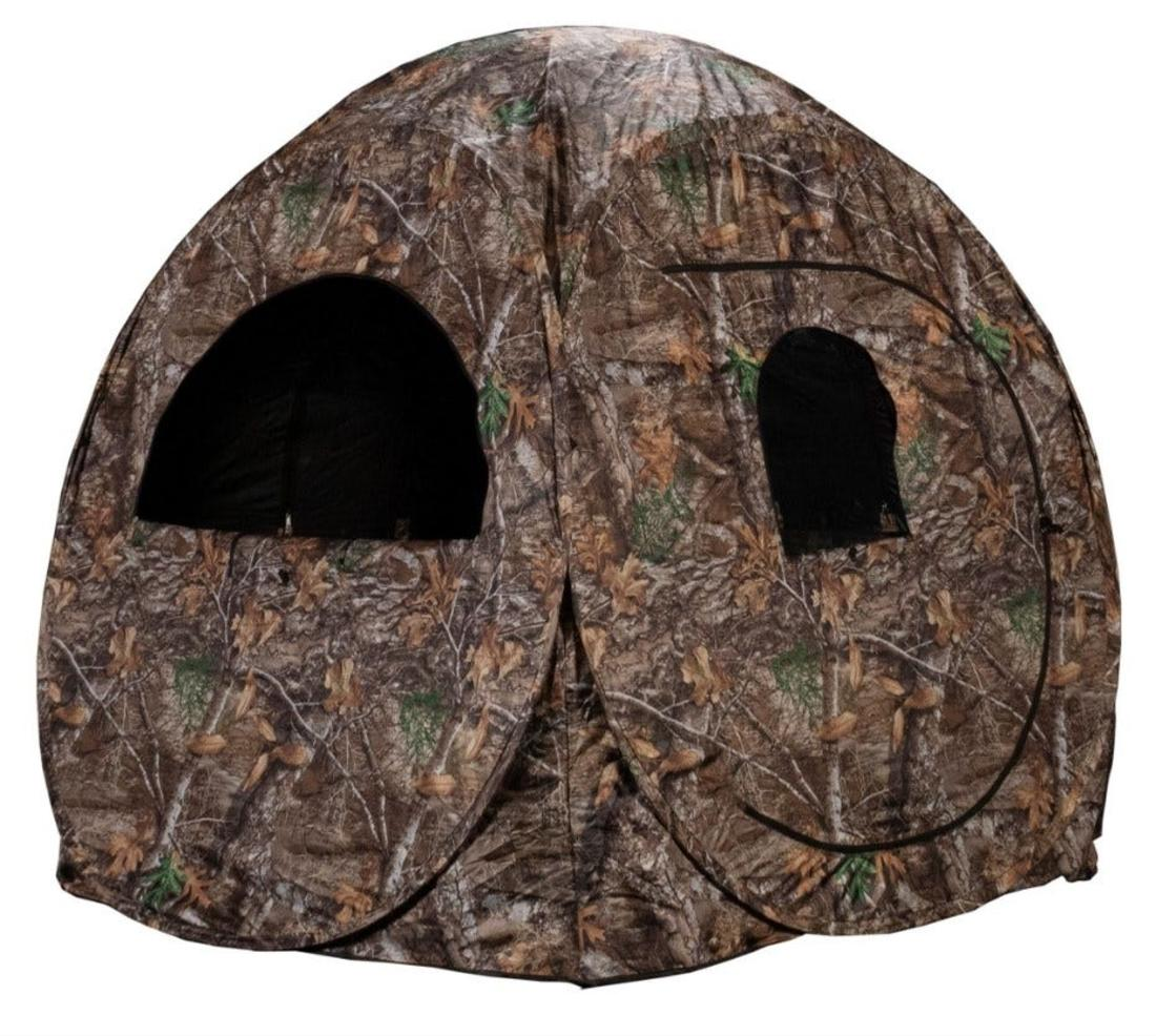 Lincoln Outfitters Realtree Steel Frame One-Man Hunting Blind