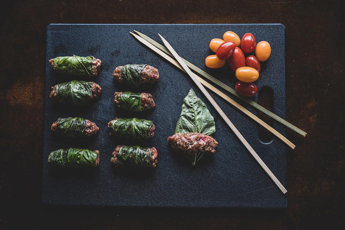 These ginger and lemongrass grilled venison skewers are a take on a Vietnamese favorite. Image by Grit Media