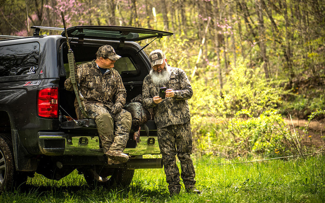 """Seeing other hunters doing hero shots with """"your bird"""" is a bitter pill to swallow. Image by Bill Konway"""