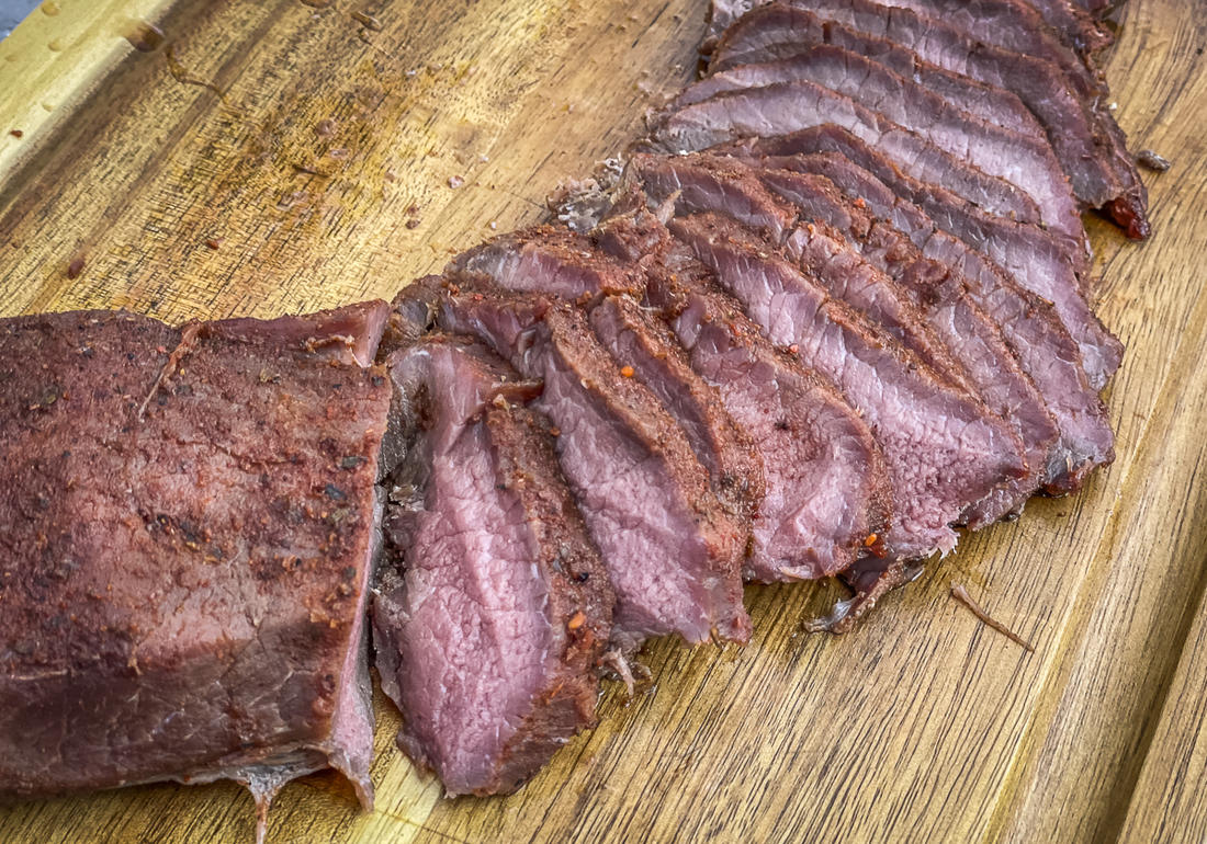 This cooking method works well for both rare to medium-rare steaks and backstrap and slow-cooked BBQ.