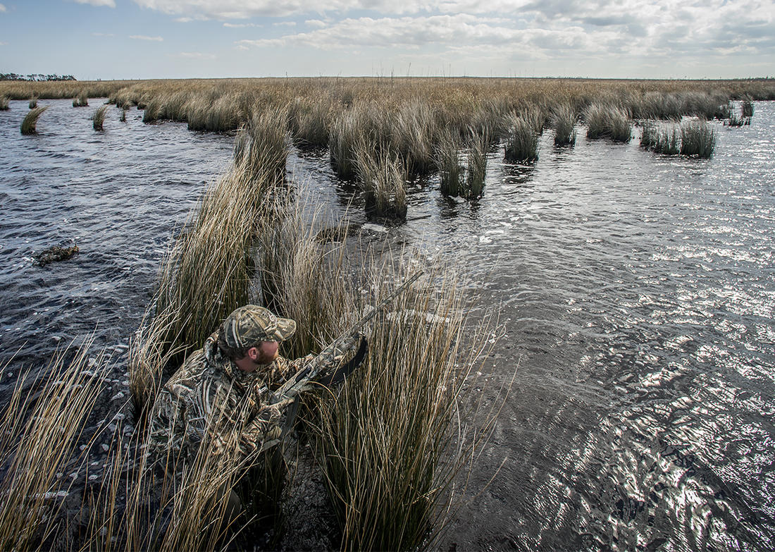 Covering 17 states (albeit some small) and featuring species you can't find in other regions, the Atlantic Flyway has something for every duck hunter. Photo by Bill Konway