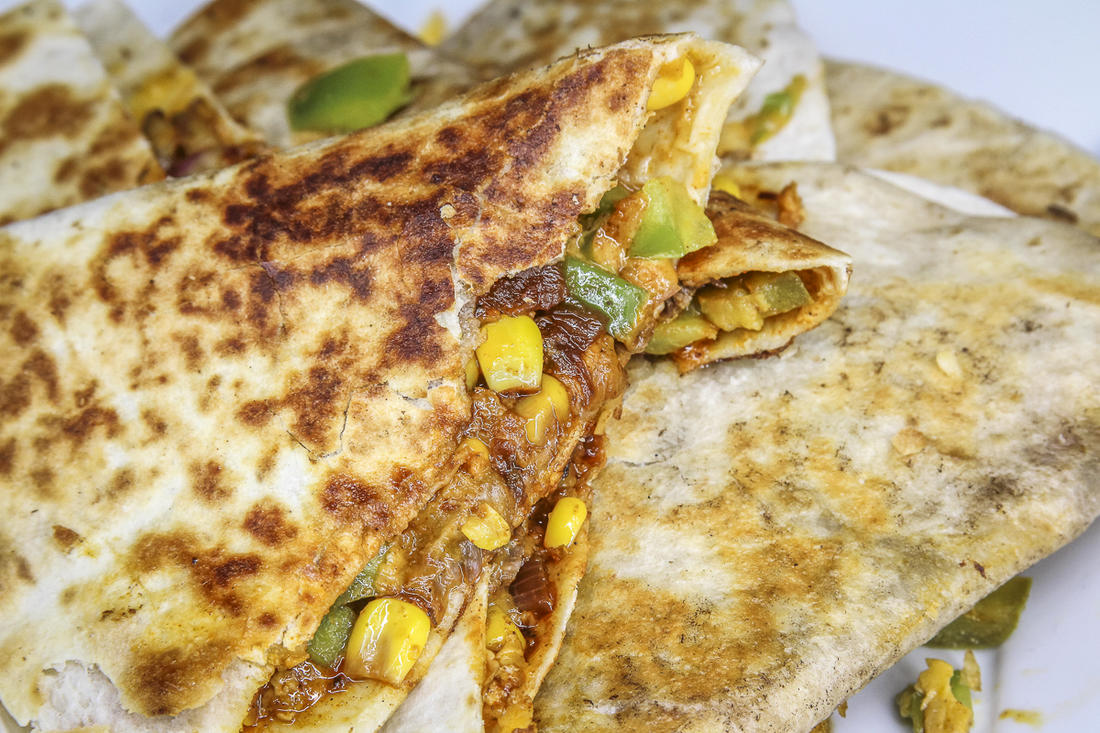 Serve these quesadillas as an appetizer or a main course.