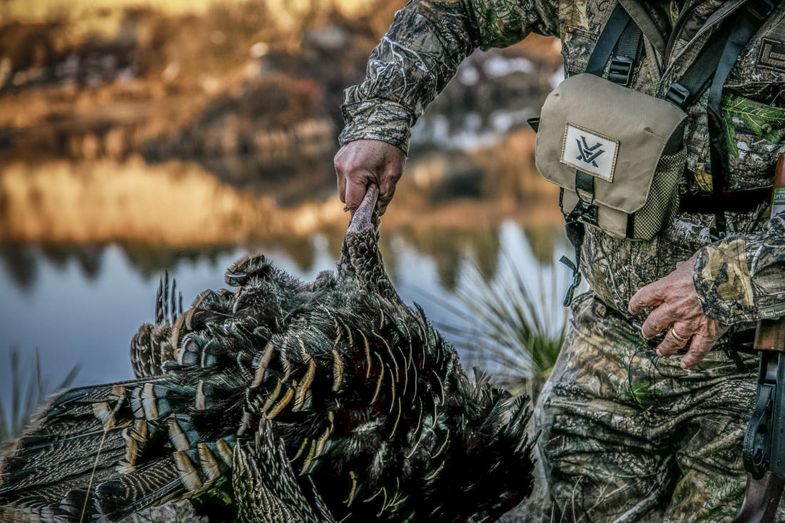 Sit. Scatter. Set up. Call. Options are many, and all of them fun. Don't want to wait until spring? Get on those turkeys now. © Olstad Media photo
