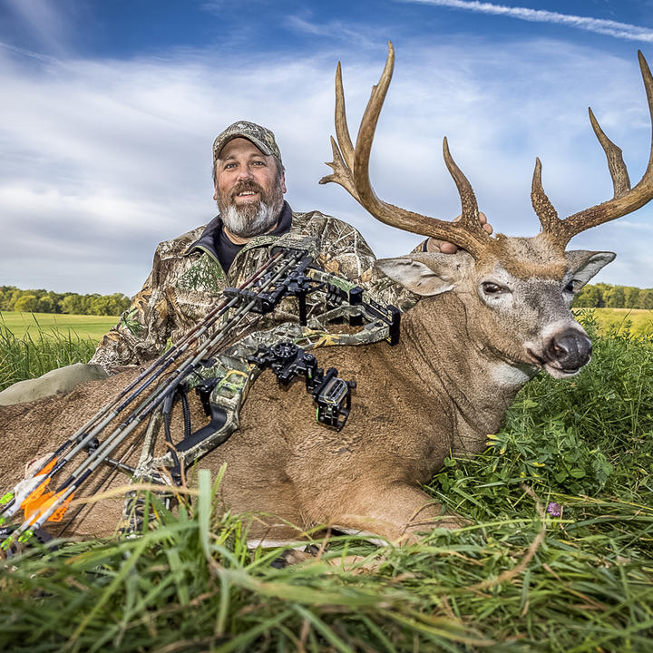 40-Acre Farm Yields a Monster Typical Buck
