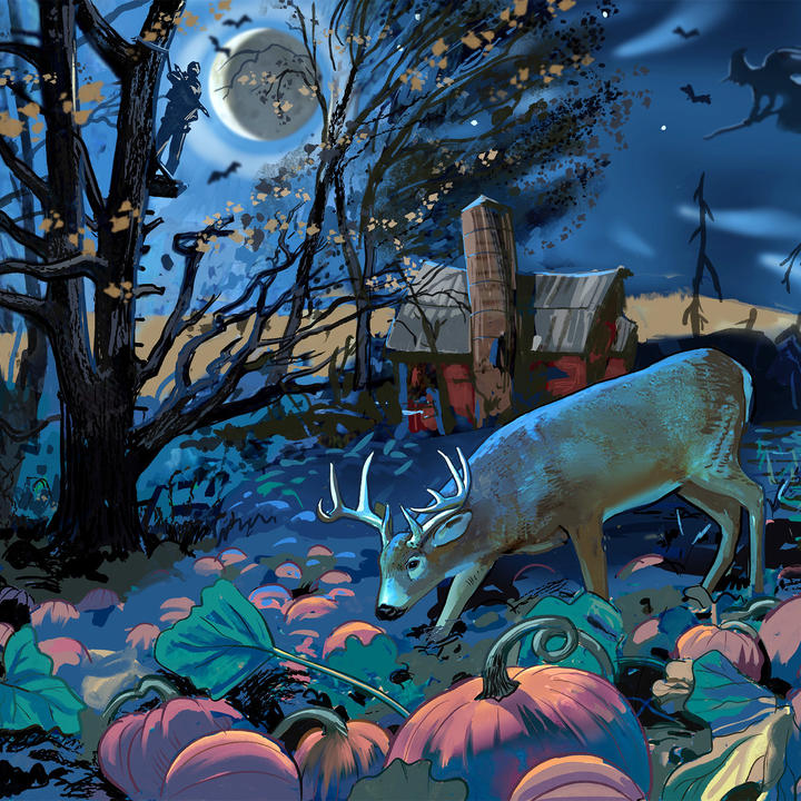 Why Deer Hunting on Halloween is Scary Good