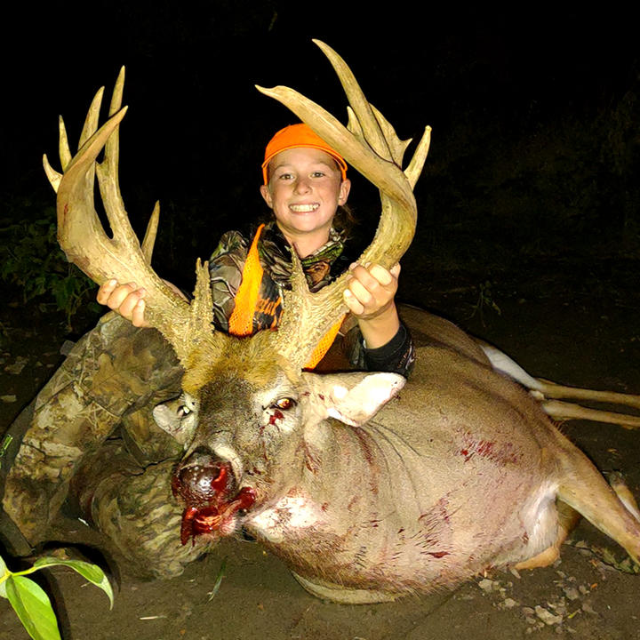 12-Year-Old Nails 211-Inch Buck