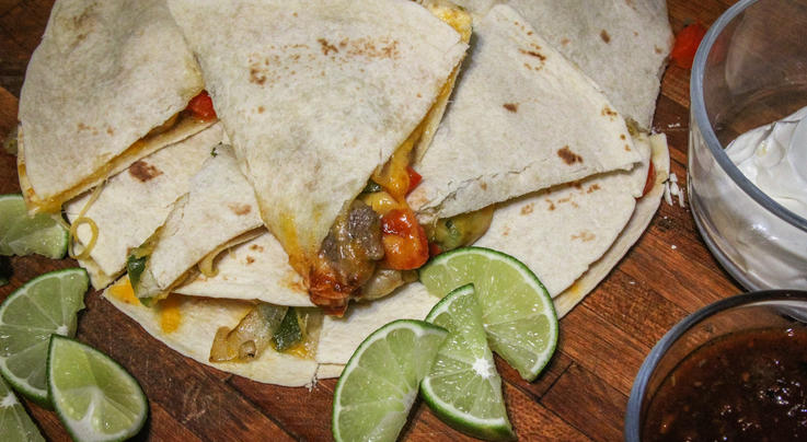 Backstrap and Shrimp Quesadillas Preview Image
