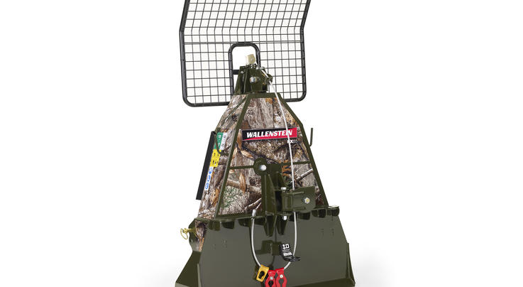Wallenstein Bush Pilot FX85 Skidding Winch in Realtree EDGE Camo Preview Image