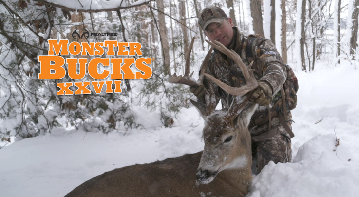 Monster Bucks 27: Gregg Ritz Crossbow Hunts Late-Season Illinois Buck Preview Image
