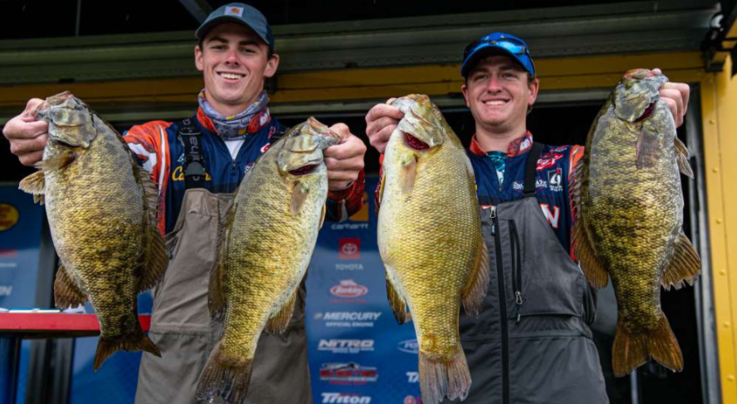 Auburn University Anglers Claim College Series Tournament Lead  Preview Image