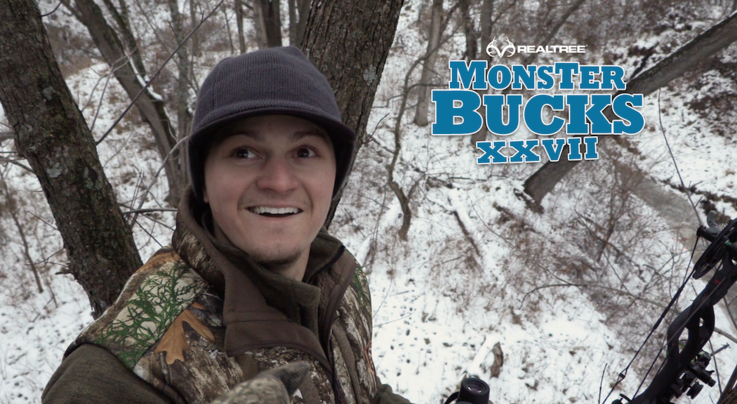 Monster Bucks 27: Bowhunter Rattles in Late-Season Iowa Buck Preview Image