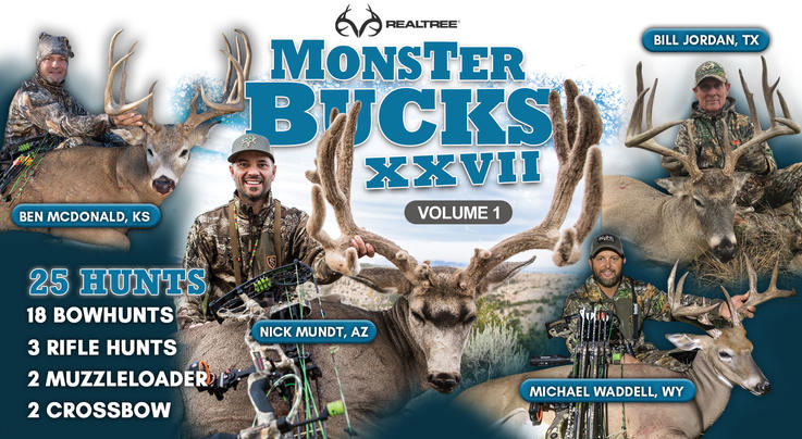 Monster Bucks Now Available Free on New Realtree 365 App Preview Image