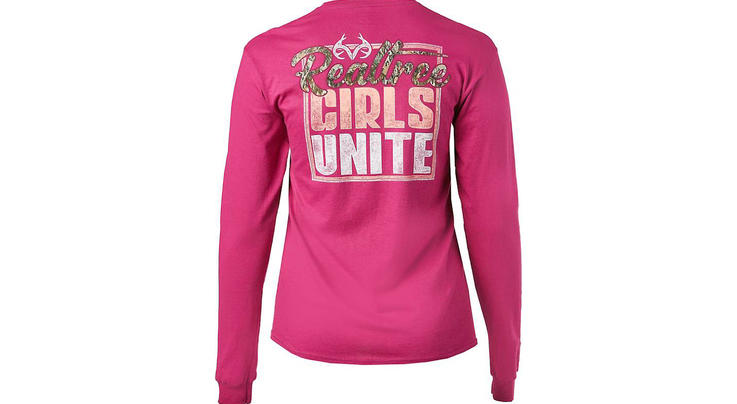 Realtree Women's Girls Unite Long Sleeve T-shirt by Academy Sports + Outdoors Preview Image