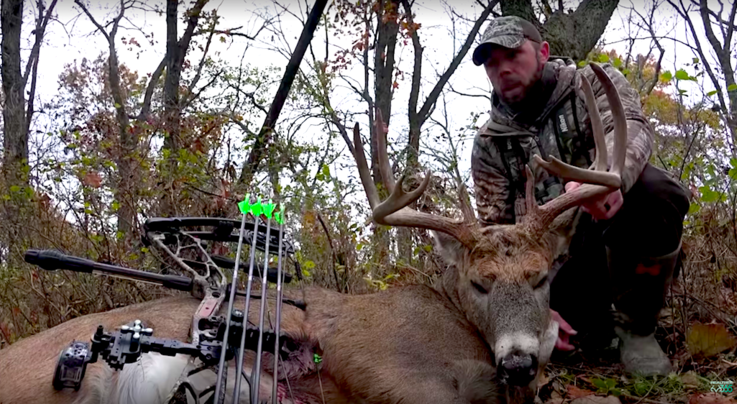 Monster Bucks: Buck Works Over Scrape at 22 Yards Preview Image