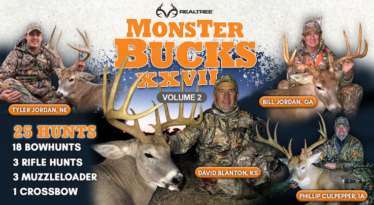 Volume 2 of Realtree's Monster Bucks XXVII Now Available Preview Image