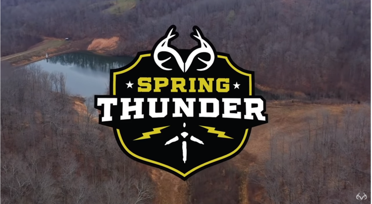 Spring Thunder: Gobbler Breeds Hen and Demolishes Decoy Preview Image