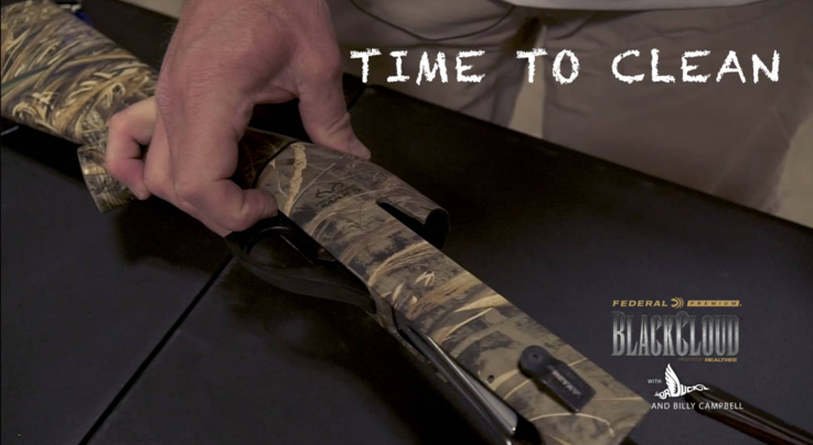 Black Cloud on Realtree 365 — How To: Shotgun Cleaning Tip with Dr. Duck Preview Image