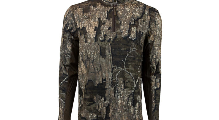 Heybo Wanderer Quarter Zip in Realtree Timber Camo Preview Image