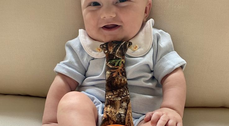 Tasty Tie® -- Realtree EDGE Camo Baby Teething Tie  Preview Image