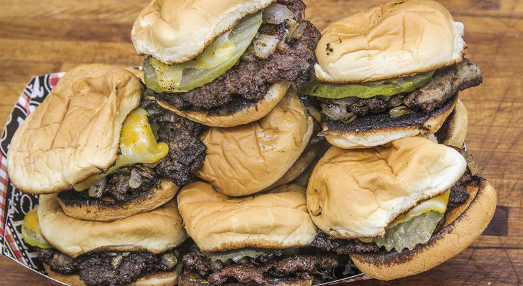 Venison Bacon Smashburger Sliders Preview Image