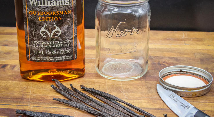 Homemade Bourbon Vanilla Extract for Holiday Baking Preview Image