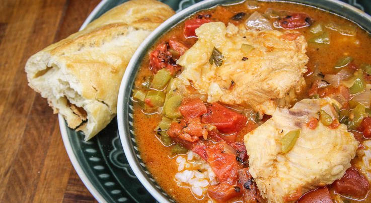 Cajun Catfish Courtbouillon  Preview Image