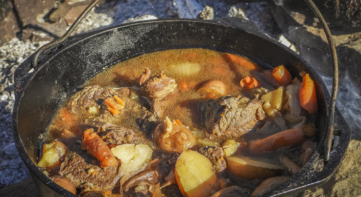Dutch Oven Campfire Elk Pot Roast Preview Image