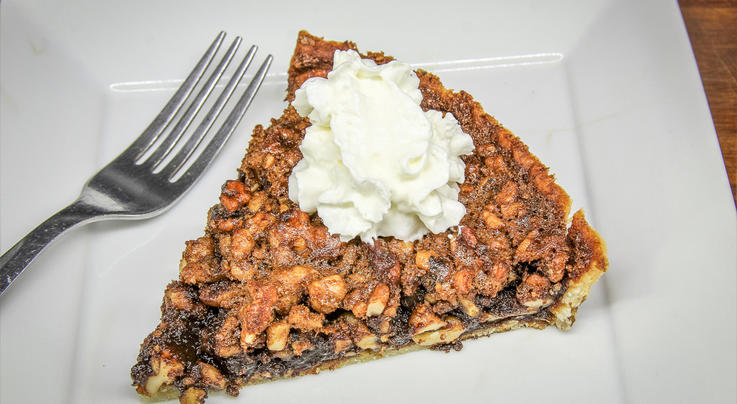 Bourbon-Sorghum Hickory Nut Tart Preview Image
