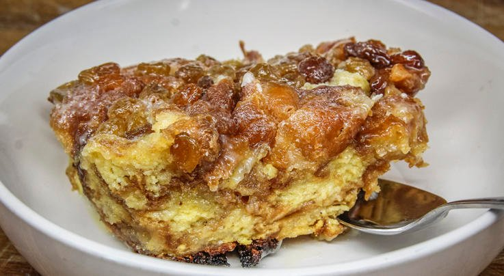 Dutch Oven Doughnut Bourbon Bread Pudding Preview Image