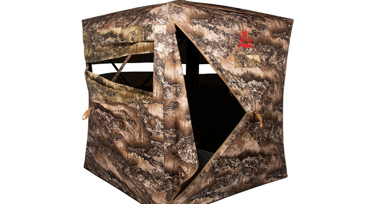 Primal Treestands Wraith 270 Deluxe Blind in Realtree EXCAPE Camo Preview Image