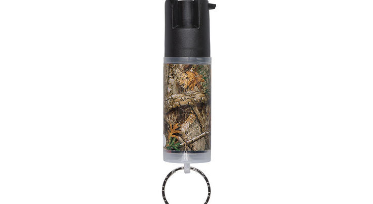 SABRE Realtree EDGE Camo Pepper Spray with Key Ring Preview Image