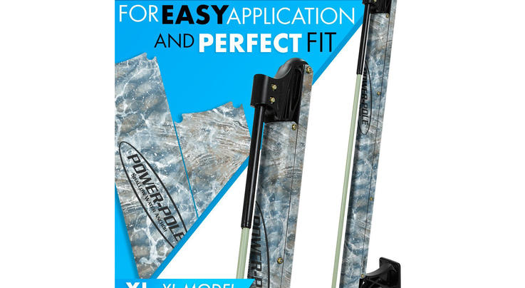 ZDecals Realtree Fishing XL Power-Pole Wraps Preview Image